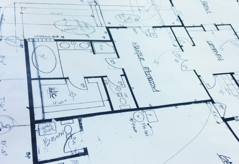 Custom plans and drawings created by in-house designers, Golden Rule Remodeling, Salem Oregon