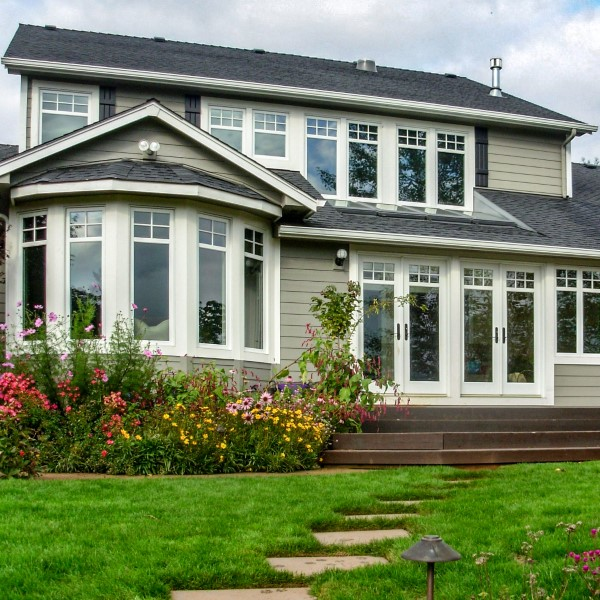 Exterior remodel with sunroom addition, Golden Rule Remodeling & Design, Salem Oregon