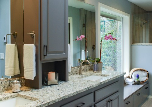Master Bathroom Remodel, Aging in Place Design, Golden Rule Remodeling & Design, Salem Oregon