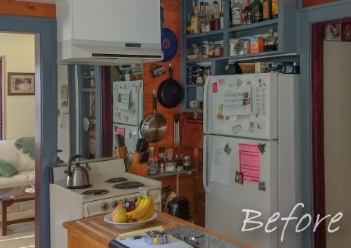 Small, charming kitchen in bungalow house with modern features (before), Golden Rule Remodeling & Design, Salem Oregon