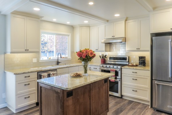 Timeless kitchen remodel, Golden Rule Remodeling & Design, Silverton Oregon